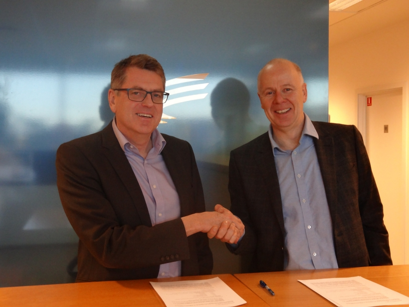 Landsnet and IAV signed a contract