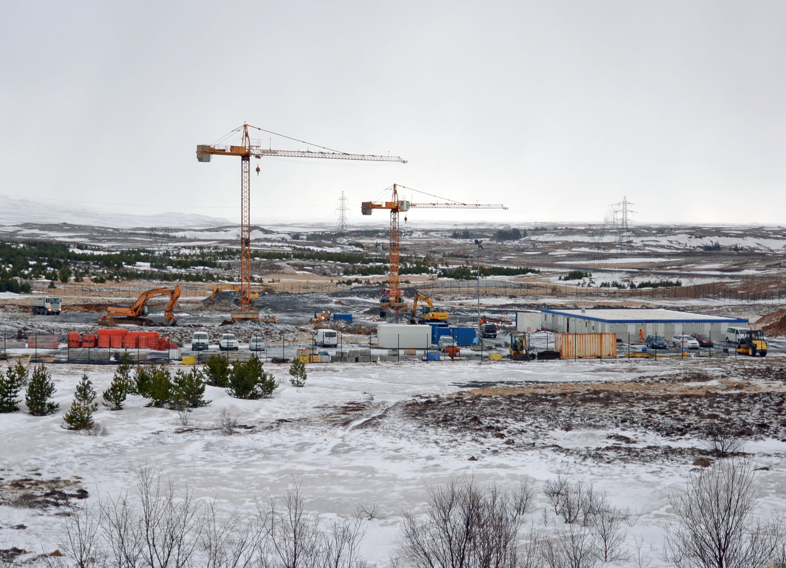 Construction update of the prison in Hólmsheiði